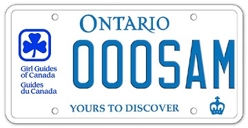 Choose a licence plate graphic | Ontario ca
