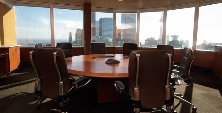 ontario investment and trade centre  round table boardroom