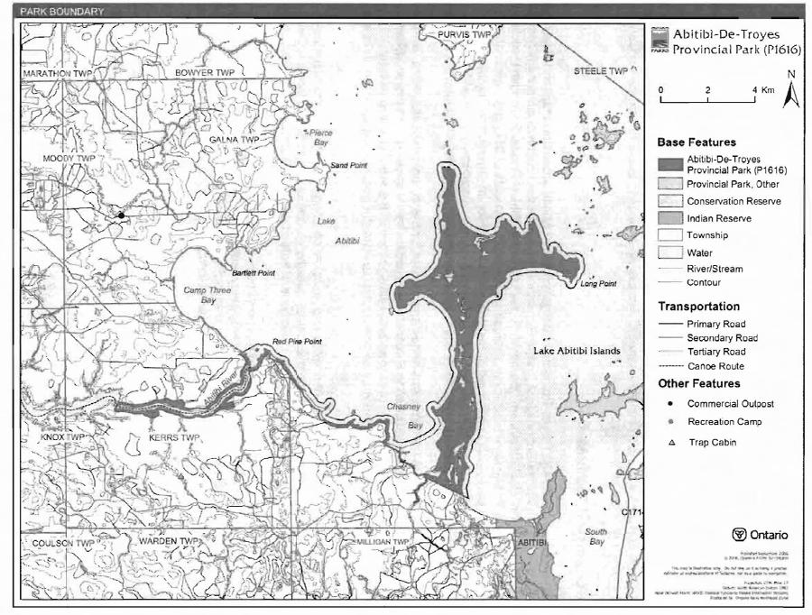 AbitibideTroyes Provincial Park Management Statement Ontarioca