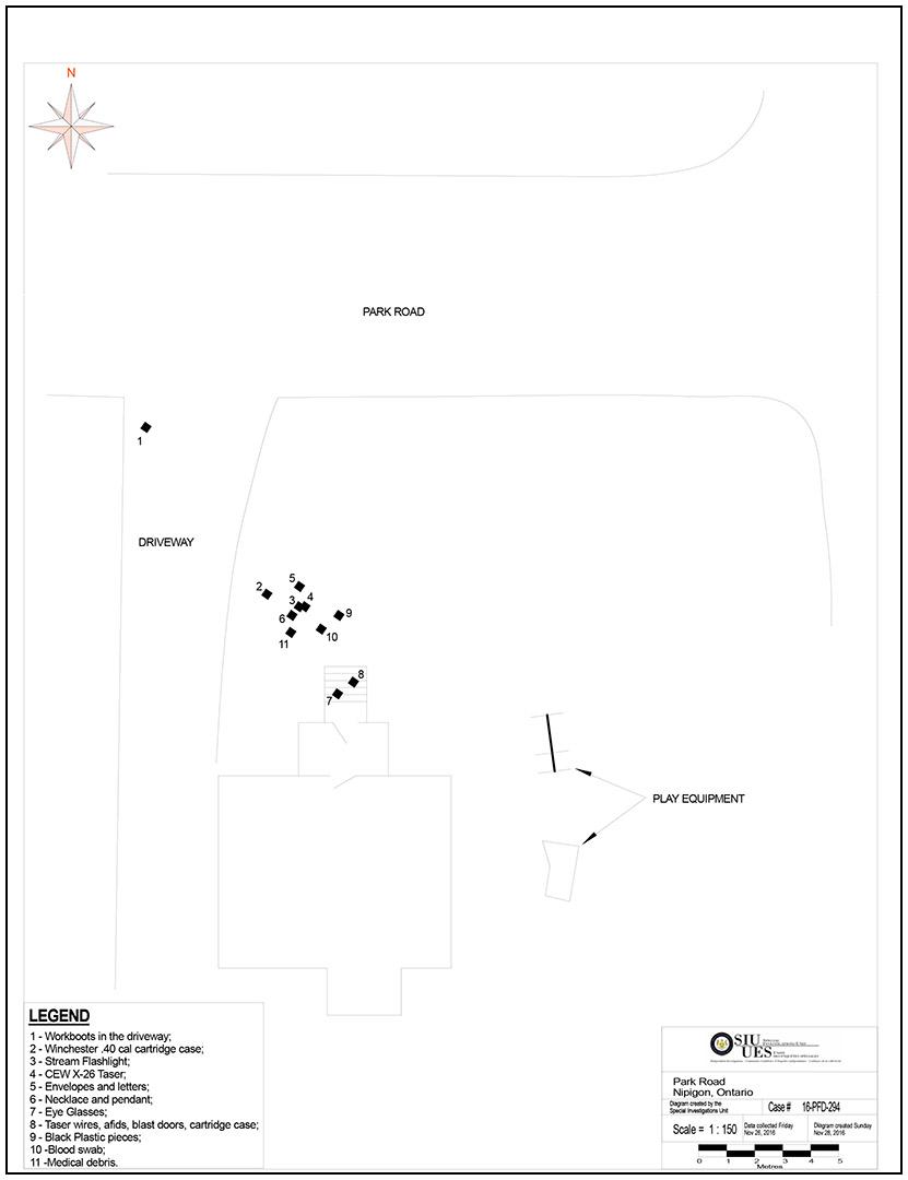 SIU Director's Report - Case # 16-PFD-294 | Ontario ca