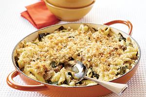 turkey cauliflower pasta bake