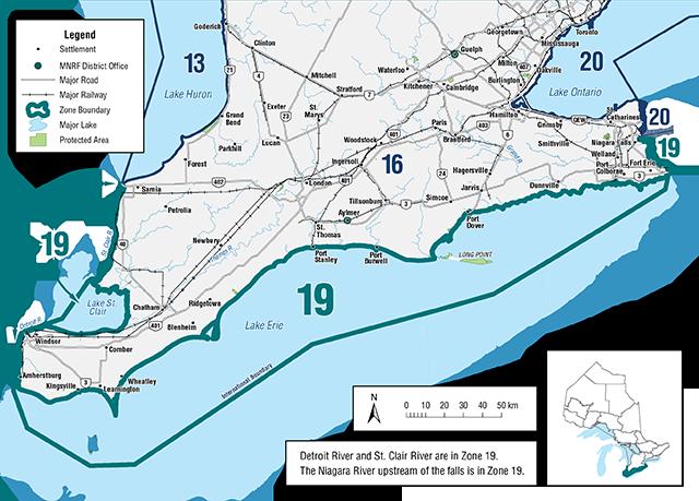 Ontario Fishing Regulations Summary