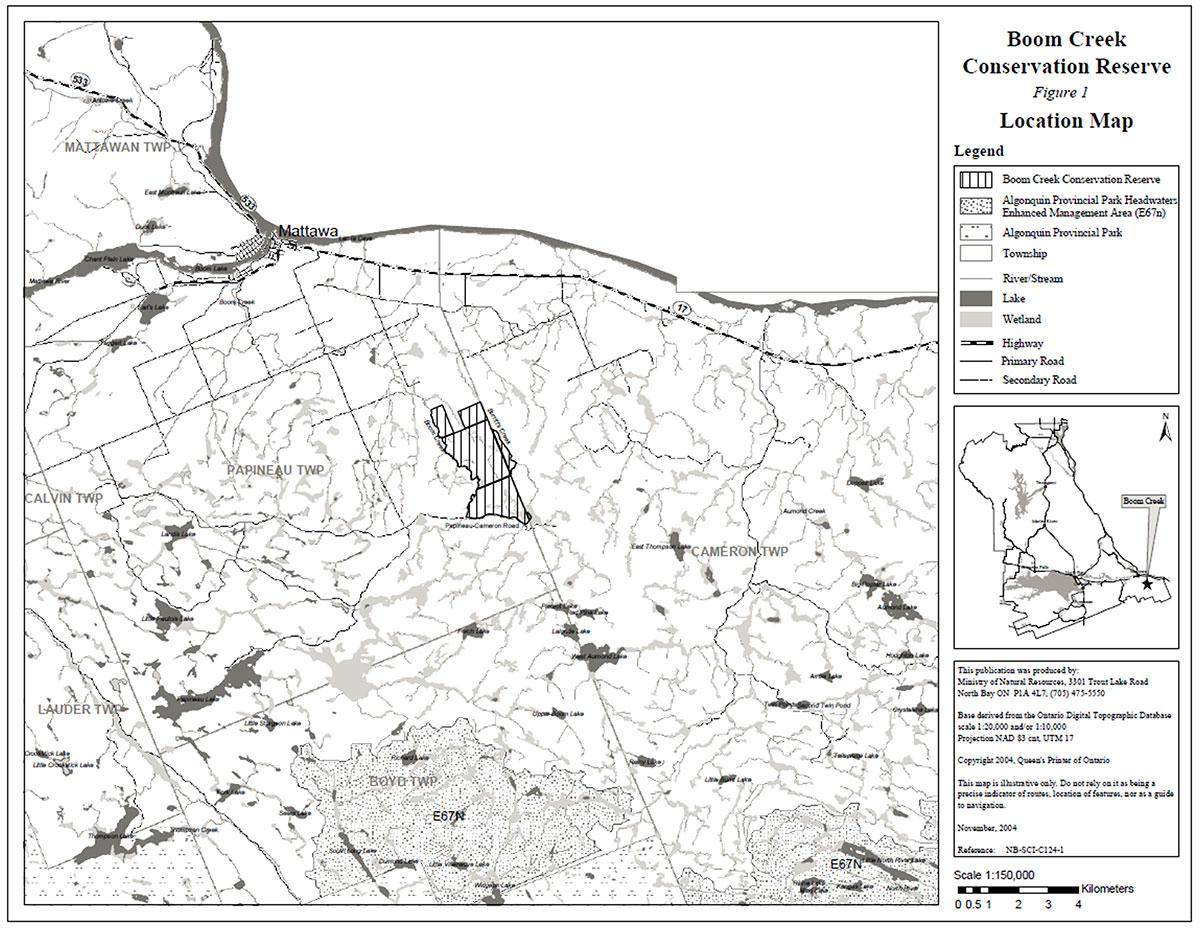 Boom Creek Conservation Reserve Management Statement | Ontario ca