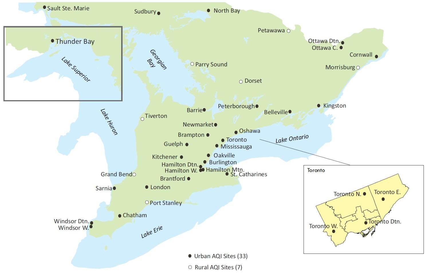 Air Quality in Ontario 2014 Report   Ontario ca