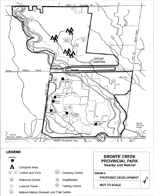 Bronte Creek Provincial Park Map Bronte Creek Provincial Park Management Plan | Ontario.ca