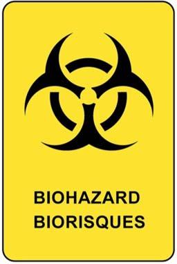 The universal biohazard symbol