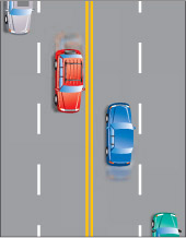 Image result for traffic double continuous line