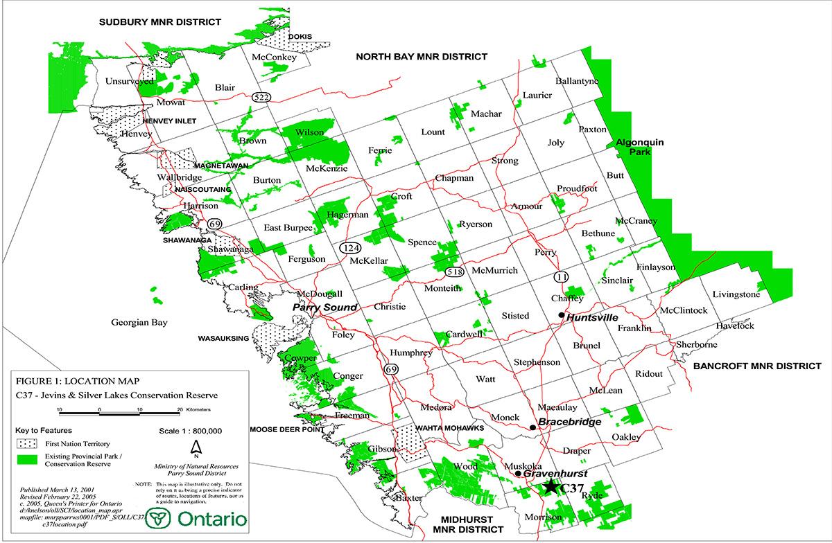 Jevins and Silver Lake Conservation Reserve Management Statement