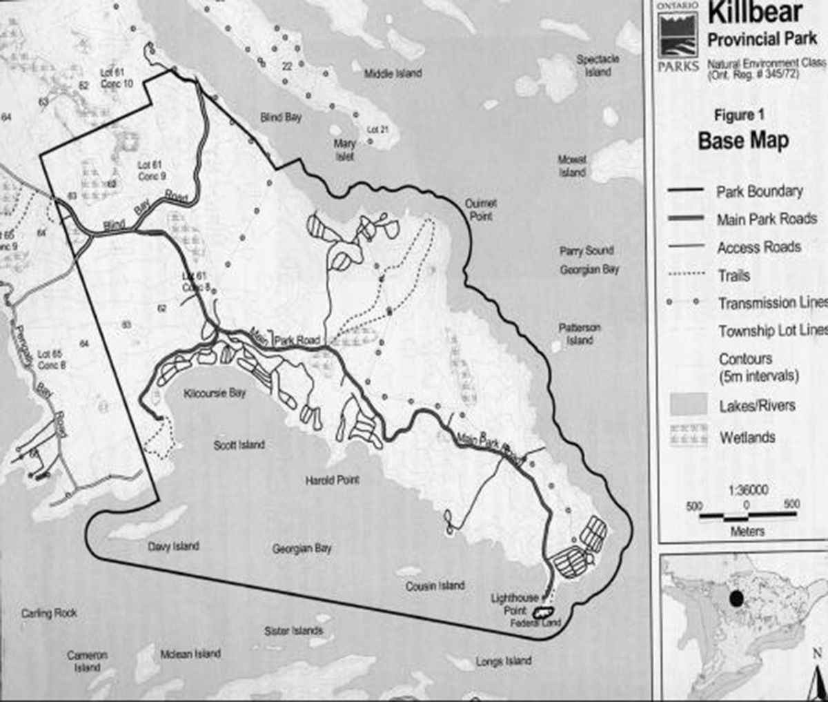 Killbear Provincial Park Map Killbear Provincial Park Management Plan | Ontario.ca Killbear Provincial Park Map