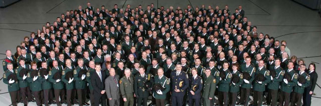 colour photo of a major fish and wildlife enforcement conference held in Sault Ste. Marie in 2006.