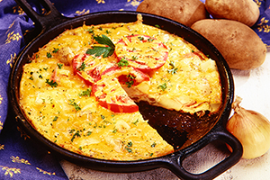 All-Ontario Frittata (Potato and Ham Frittata)