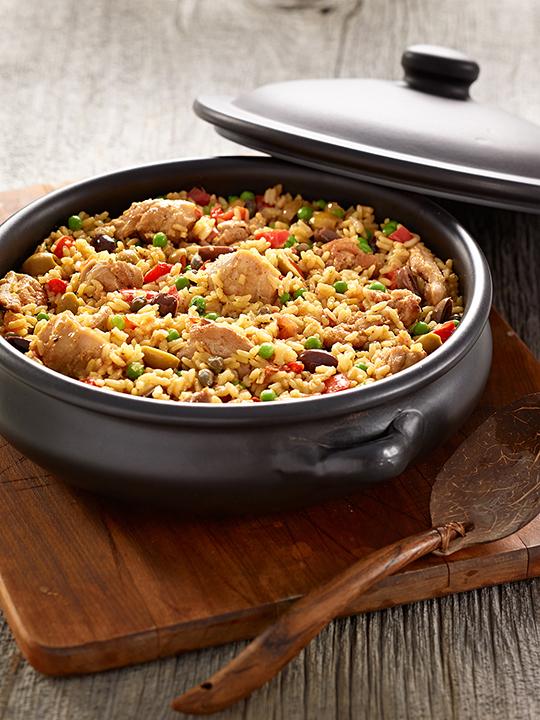 Riz au poulet (arroz con pollo)