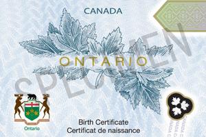 Order resume online birth certificate