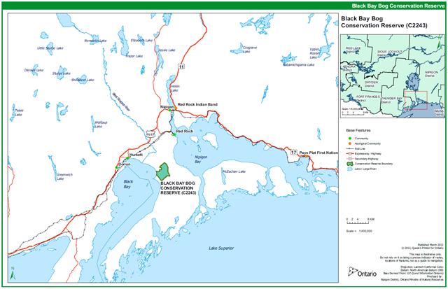 Black Bay Bog Conservation Reserve Management Statement ... on