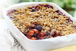 Cherry Berry Brown Betty