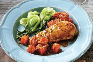 Autumn Chicken and Squash Dinner