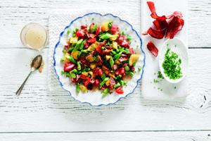Spring Bounty Chopped Salad