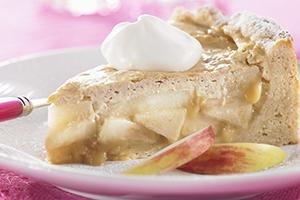 Cinnamon Apple Cream Tart