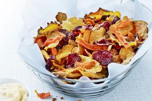 Crispy Vegetable Chips