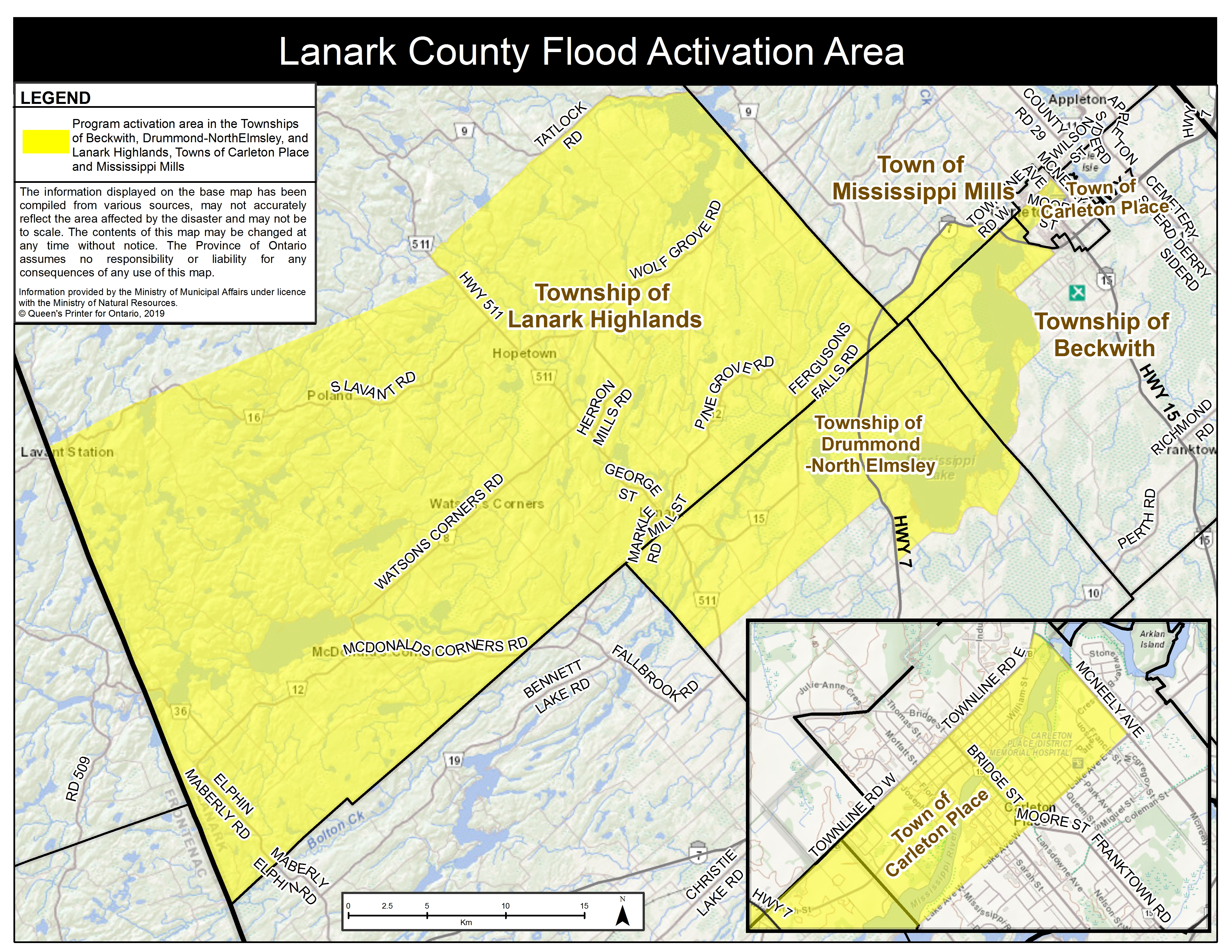 Ontario Government Activates Disaster Recovery Assistance to Support Residents in Lanark County
