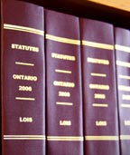Lois de l'Ontario