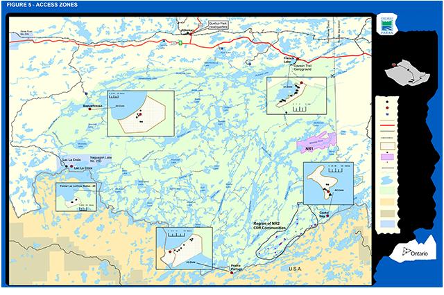 Quetico Provincial Park Management Plan Published 2018 Ontario Ca