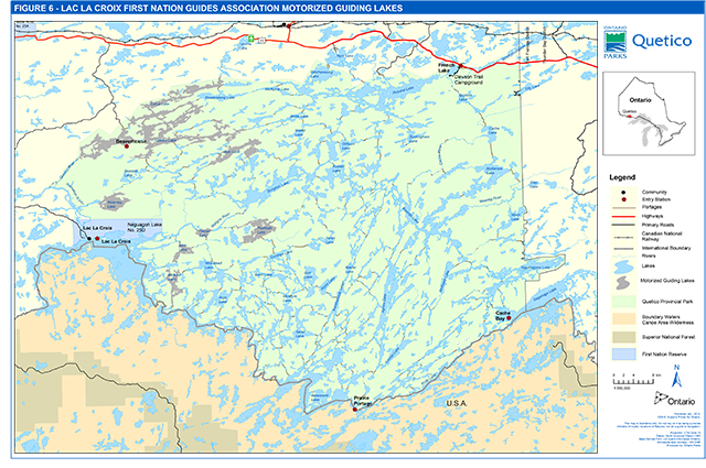Quetico Provincial Park Management Plan Published 2018 Ontario Ca