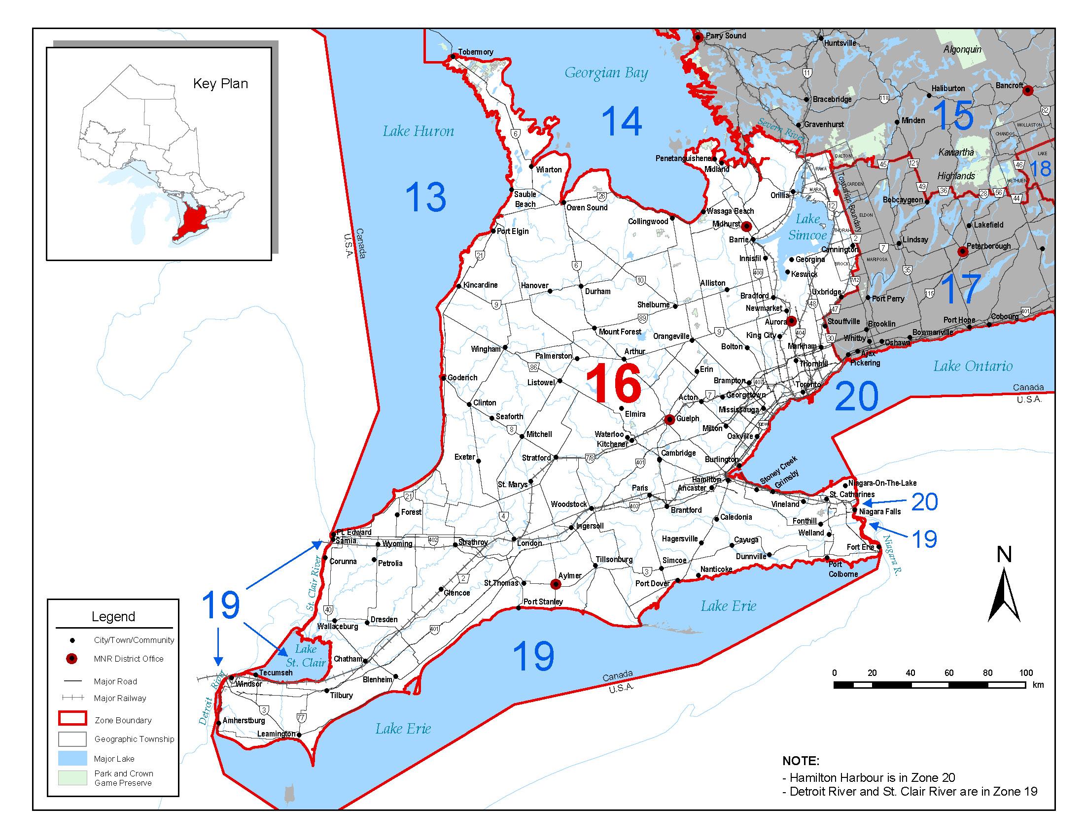Fisheries Management Zone 16 (FMZ 16) | Ontario.ca