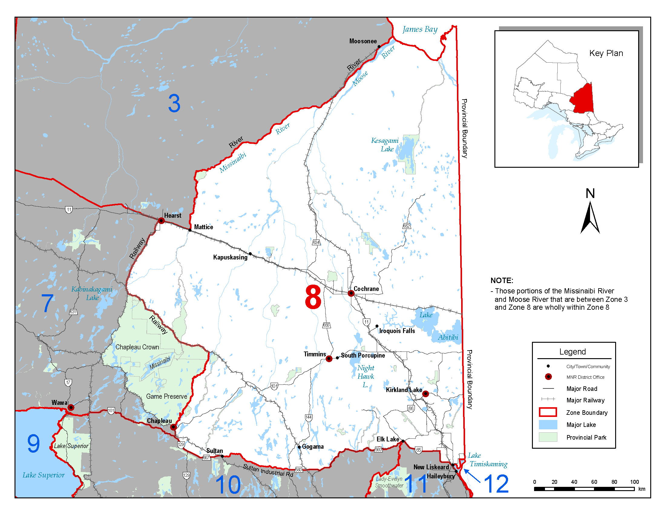 Fisheries Management Zone FMZ Ontarioca - Ontario fishing lakes maps