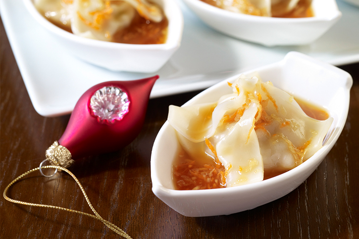 Asian Chicken Ginger Dumplings