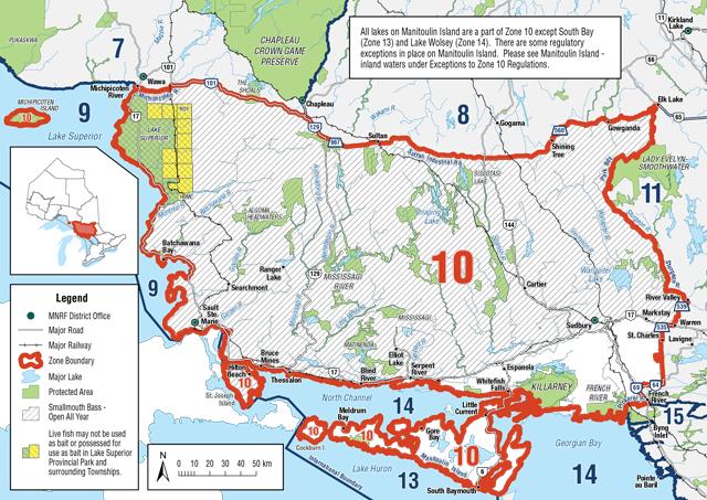 Fisheries Management Zone 10 (FMZ 10)   Ontario.ca