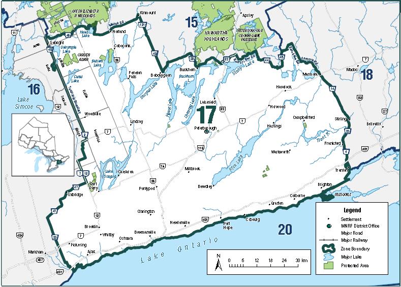 lake scugog fishing map Fisheries Management Zone 17 Fmz 17 Ontario Ca lake scugog fishing map