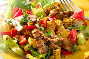 Grilled Chicken Corn Salad