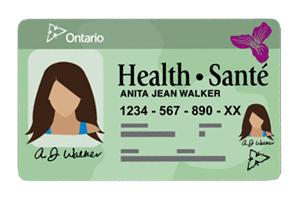 Carte Assurance Maladie Ontario.Les Soins De Sante En Ontario Ontario Ca