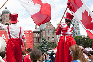 Canada Day celebration at Queen's Park
