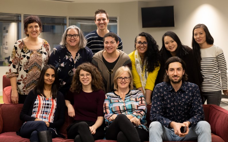 Members of the Service Design Guild executive team