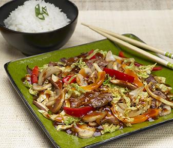 Japanese Beef Stir-Fry (Sukiyaki)