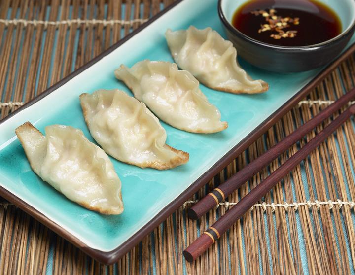 Japanese Dumplings (Gyoza)