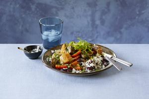 Jerk Pork and Vegetable Stew