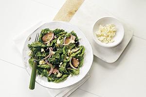 Grilled Lamb Feta Spinach Salad