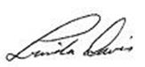 Signture of Linda Davis
