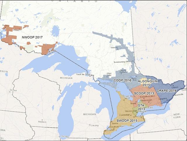 Ontario Topographic Map.Land Information Ontario Ontario Ca
