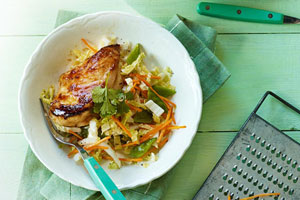 Maple Chicken and Napa Salad