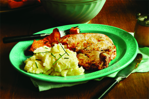 Mashed Buttermilk Potatoes and Celery Root
