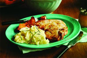 Purée de pommes de terre et de céleri-rave au babeurre