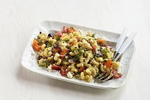 Vegetable and Feta Pasta Salad