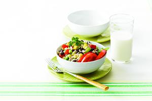 Mexican Black Bean & Rice Salad
