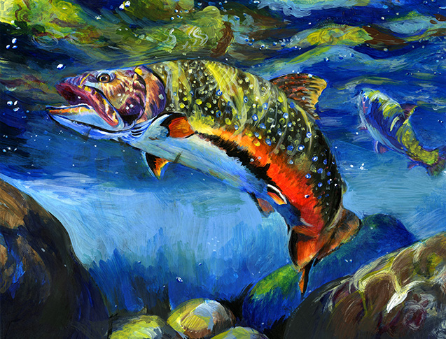2nd place – Kids' Fish Art Contest