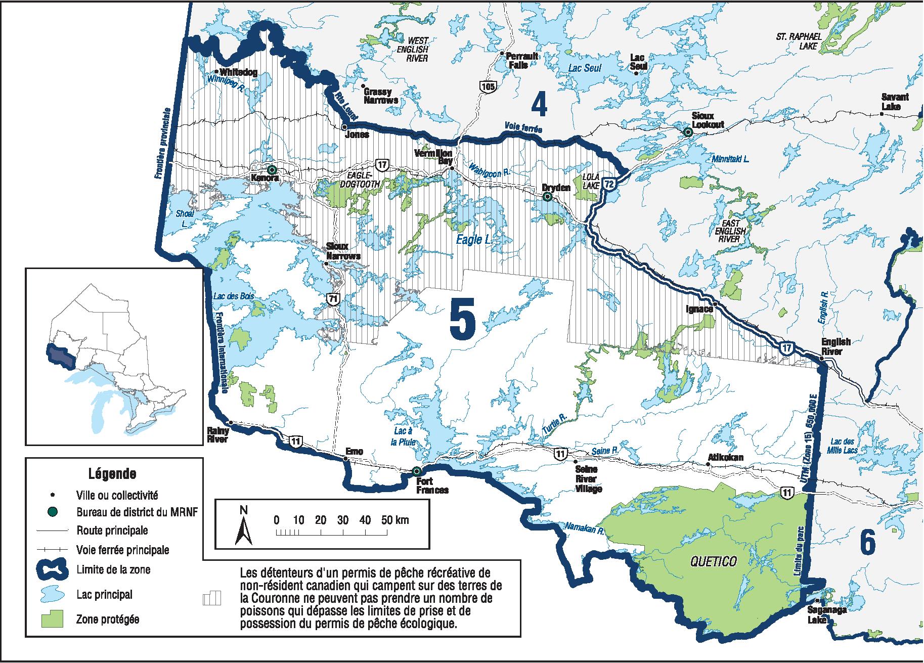 Zone De Gestion Des Pêches 5 Ontarioca