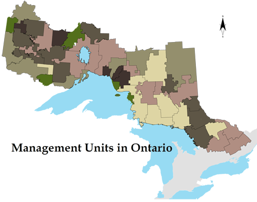 Management unit map